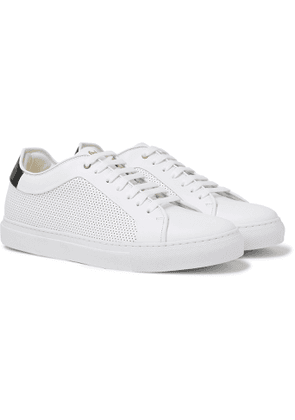 Paul Smith - Perforated Leather Sneakers - Men - White