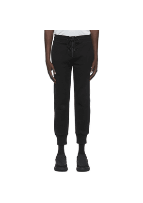 Givenchy Black Front Lace Lounge Pants