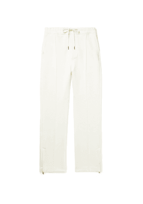 TOM FORD - Stretch-Jersey Sweatpants - Men - White