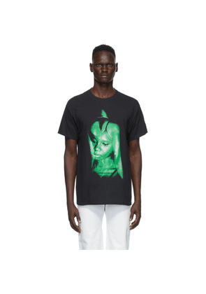 Mowalola Black and Green Another Mans Wife T-Shirt