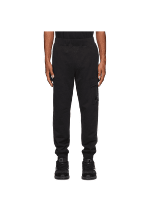 C.P. Company Black Cargo Lounge Pants
