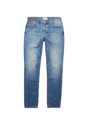 AMI - Washed-Denim Jeans - Men - Blue