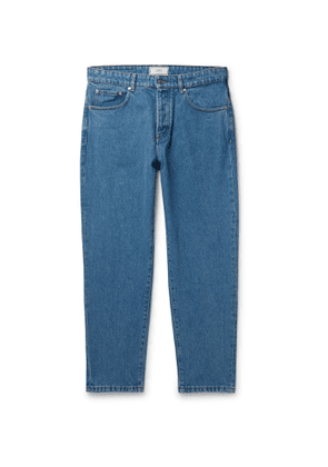 AMI - Tapered Denim Jeans - Men - Blue