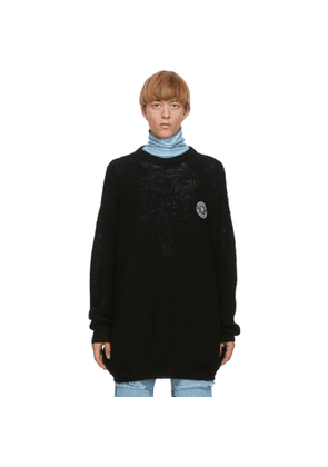 Raf Simons Black Scout Badge Sweater