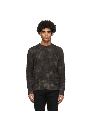 rag and bone Khaki Camo Carson Sweater