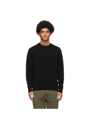 rag and bone Black Cashmere Haldon Sweater
