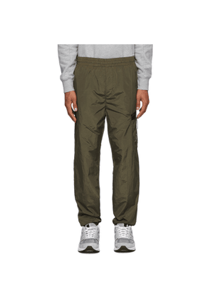 C.P. Company Green Nylon Track Pants