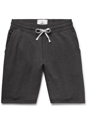 Reigning Champ - Loopback Cotton-Jersey Drawstring Shorts - Men - Gray