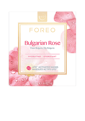 FOREO UFO Mask 6 Pack in Bulgarian Rose - Beauty: NA. Size all.