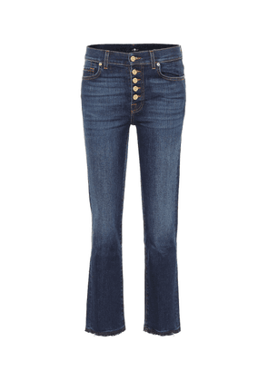 The Straight Crop jeans