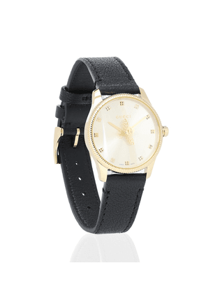 G-Timeless 29mm leather watch