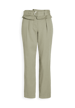 Derek Lam 10 Crosby Malia High Waisted Paper Bag Trousers