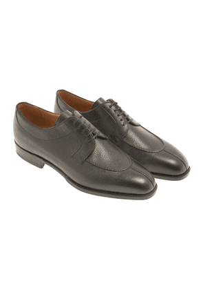 Black Leather 1883 Heritage 305 Derby Shoes
