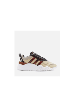 adidas Originals by Alexander Wang Turnout Trainers - Core Black/Light Brown/Bright Red - UK 5