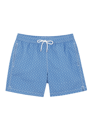 Blue and Navy Swim Shorts