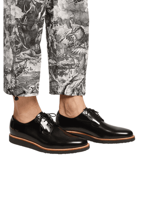 Common Projects 'Derby' Leather Shoes Men's Multicolor
