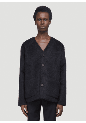 Our Legacy Textured Cardigan in Black