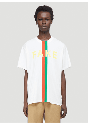 Gucci Not Fake T-Shirt in White