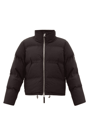 Aztech Mountain - Panda Quilted-down Shell Jacket - Womens - Black