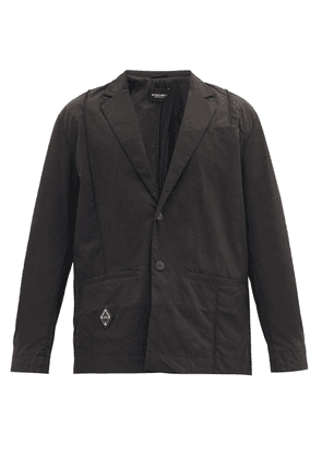 A-Cold-Wall* - Single-breasted Technical-shell Blazer - Mens - Black