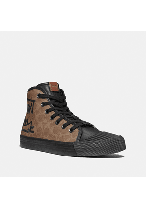 C211 High Top With Rexy By Guang Yu in Brown - Size 8.5 D