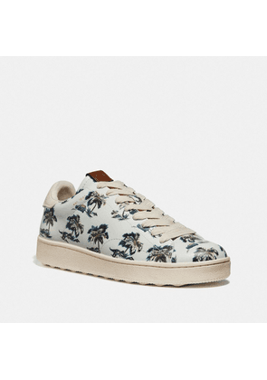C101 With Dino Palm Print in Blue - Size 9.5 D