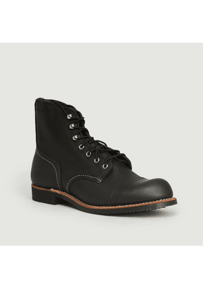 Iron Ranger Black Harness Boots Black Red Wing Shoes