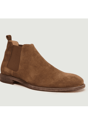 Suede Chelsea Boots Tabac Anthology Paris