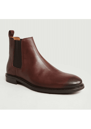 Leather Chelsea Boots 7275 Brown Anthology Paris
