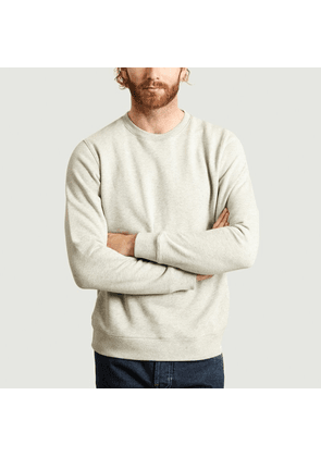 Vagn Classic Sweatshirt Light Grey Melange Norse Projects