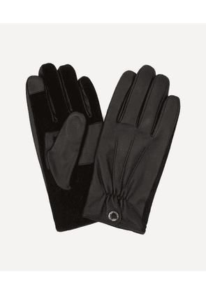 Esher Suede Touchscreen Leather Gloves