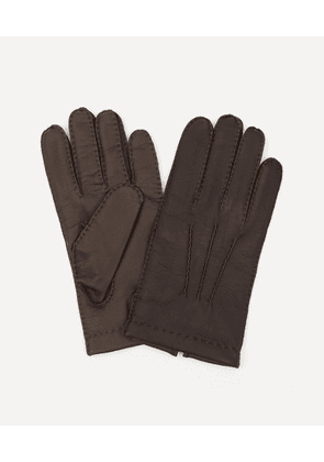 Shaftesbury Cashmere-Lined Touchscreen Leather Gloves