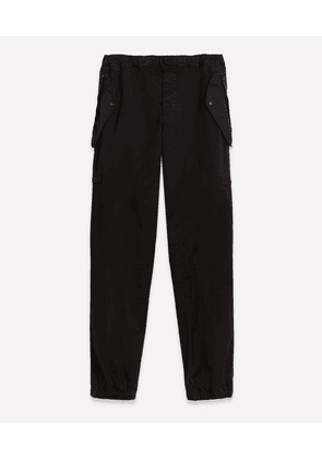 Tapered Stretch-Cotton Twill Cargo Trousers