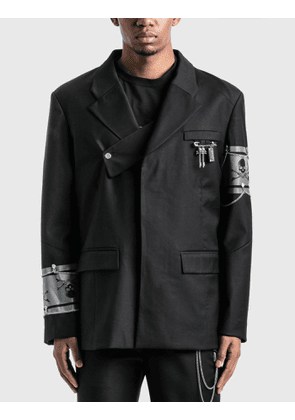C2H4 Los Angeles C2H4® x Mastermind Japan Layered Two-button Tailored Jacket