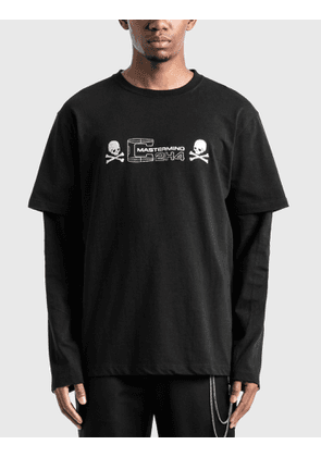 C2H4 Los Angeles C2H4® x Mastermind Japan Double Layer Long Sleeve T-Shirt