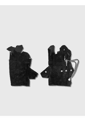 C2H4 Los Angeles C2H4® x Mastermind Japan Distressed Rivet Chain Gloves