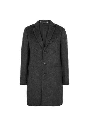 PS By Paul Smith Charcoal Wool Coat