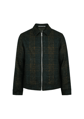 PS By Paul Smith Checked Wool-blend Jacket