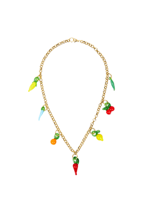 Sandralexandra Groceries Gold-tone Necklace