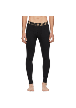Versace Underwear Black Medusa Lounge Pants