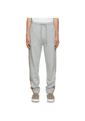 Burberry Grey Check Lounge Pants
