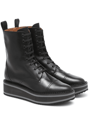 British leather ankle boots