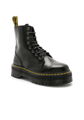 Dr. Martens Jadon Fusion Smooth Boot in Black - Black. Size 10 (also in ).