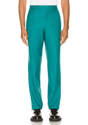 Givenchy Cropped Trousers in Turquoise - Green. Size 50 (also in ).