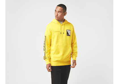 The North Face Steep Tech Logo Hoodie, Yellow/Black