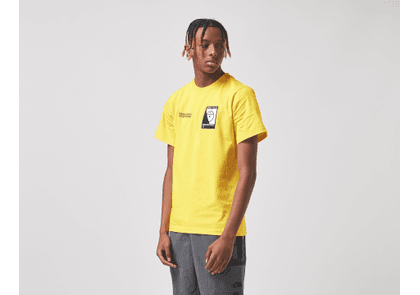 The North Face Steep Tech T-Shirt, Yellow/Black