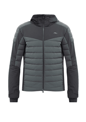 Kjus - Sight Line Quilted Hooded Ski Jacket - Mens - Green
