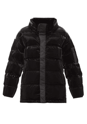 Templa - Gloss Quilted Down Jacket - Mens - Black