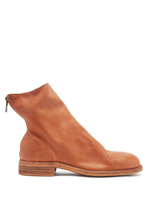 Guidi - Zip Supple-leather Boots - Mens - Brown