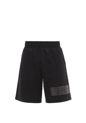 Givenchy - Logo-patch Cotton-jersey Shorts - Mens - Black